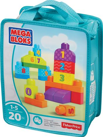 Fisher-Price Mega Bloks First Builder, 20-os. palikkasarja