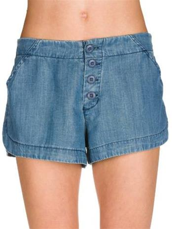 Billabong Until Sunrise Shorts chambray / sininen Naiset