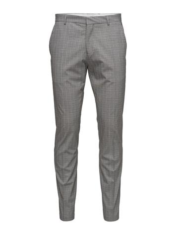 Selected Homme Shdone-Taxelias Grey Check Trousers 15370578