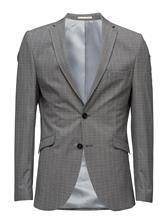 Selected Homme Shdone-Taxelias Grey Check Blazer 15370926