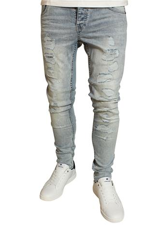 Solid Dexter Stretch Jeans Blue