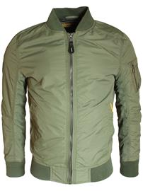 Superdry SDR Lite Flight Bomber Jacket Drill Khaki