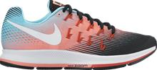 Nike W AIR ZOOM PEGASUS 33 BLACK/WHITE/LAVA G