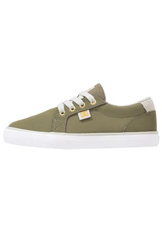 DC Shoes COUNCIL Matalavartiset tennarit green/grey/white