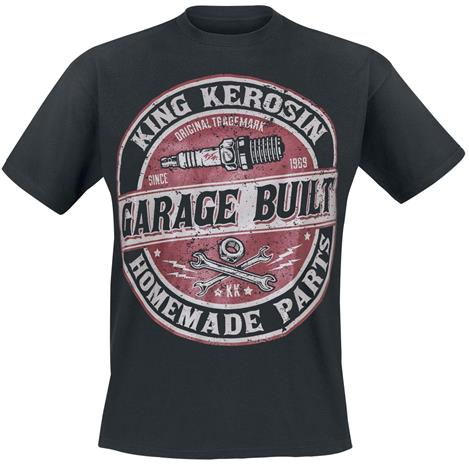 King Kerosin - Garage Built - T-paita