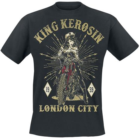 King Kerosin - London City - T-paita