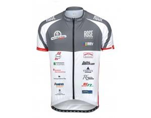 ROSE MUKO BIKE TOUR 2017 jersey black/red/white M