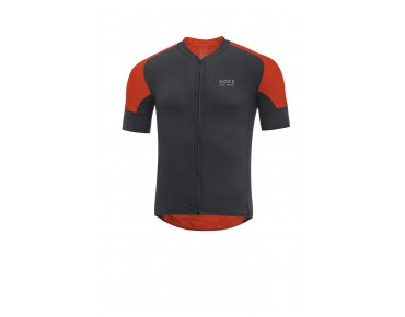 GORE BIKE WEAR OXYGEN CC Jersey black/orange.com XXL