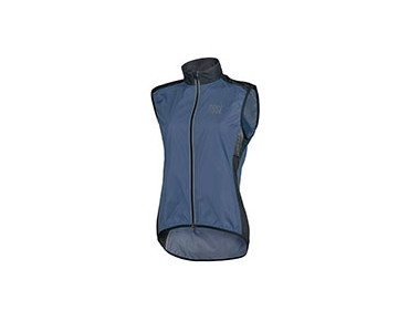 ROSE PRO FIBRE womens wind vest navy/black 44'