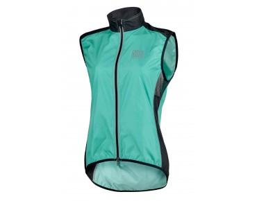 ROSE PRO FIBRE womens wind vest malibu/black 40'