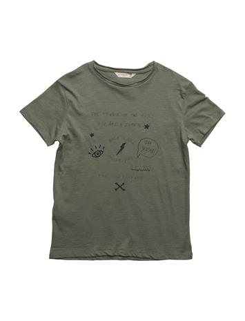 Mango Kids Embossed Design T-Shirt 15472822