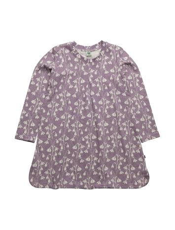 Småfolk Dress Ls. + Pleat. Flowers 14880006