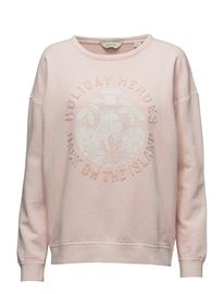 Scotch & Soda Garment Dyed Sweat In Cool Boxy Fit 15068199