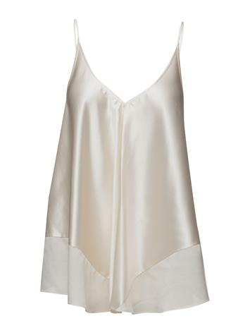 T by Alexander Wang Silk Charmeuse With Habotai Trapeze Cami Top 15364215