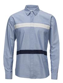Soulland Ss17 Asklund Shirt W. Stitched Fabric Tapes 15392302