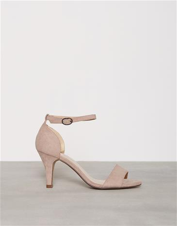 Bianco Low Basic Sandal Low Heel Nougat