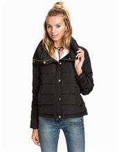 Soaked in Luxury Donnie Down Jacket Untuvatakit Black