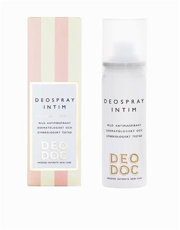 DeoDoc Deospray Intim 50 ml Intiimialueen hoito Honolulu Breeze
