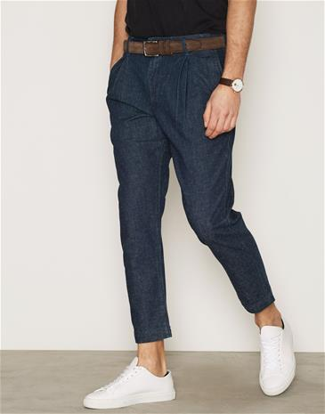 Levis True Pleated Chino Housut Denim