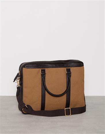 Baron Laptop Bag Laukut Khaki
