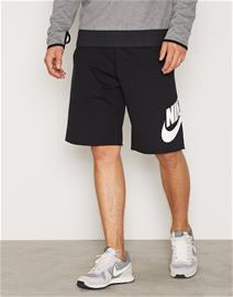 Nike Sportswear Mens Shorts FT Treenishortsit Black/White