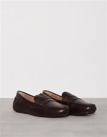 Polo Ralph Lauren Wes-E Loaferit & tohvelit Dark Brown
