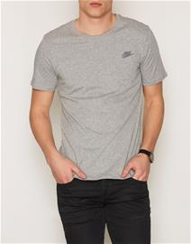 Nike Sportswear Tee Club Embroided T-Shirt T-paidat ja topit Dark Grey