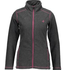 Cross Sportswear SO MICRO FLEECE W GREY MEL/FRESIA