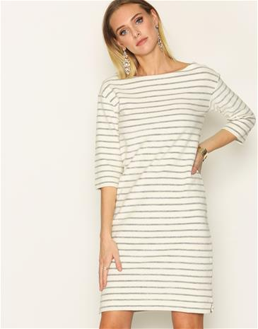 By Malene Birger Balloni Dress Loose fit dresses Soft White