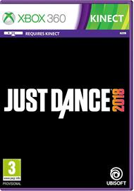 Just Dance 2018, Xbox 360 -peli