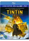 The Adventures of Tintin: The Secret of the Unicorn (2011, 3D Blu-Ray), elokuva
