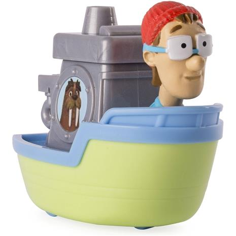 Paw Patrol - Rescue Racers - Captain Turbot's Boat