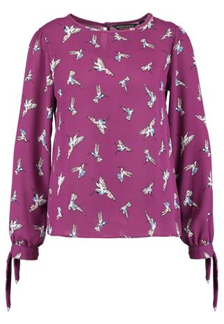 Dorothy Perkins HUMINGBIRD TIE LONG SLEEVE Pusero multi bright