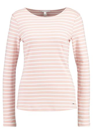 TOM TAILOR DENIM CREWNEC Pitkähihainen paita evening rose