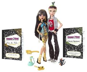 Cleo De Nile & Deuce Gorgon - Schools out monster high
