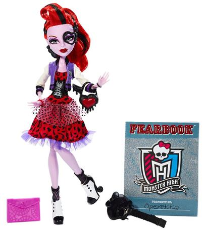 Operetta - Picture Day collection - Monster High docka