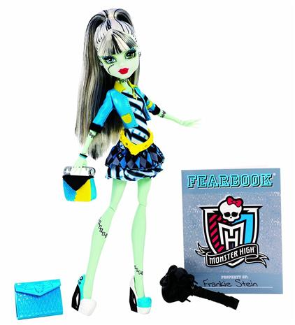 Frankie Stein - Picture Day collection - Monster High docka