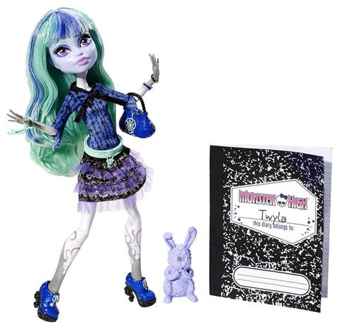 Twyla - 13 Wishes - Monster High docka