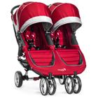 BABY JOGGER Sisarusrattaat City Mini Double, Crimson/Gray