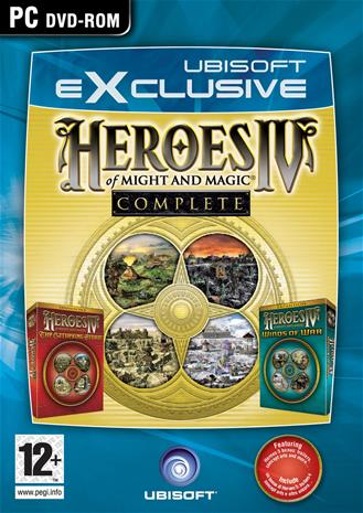 Heroes of Might & Magic IV Complete, PC-peli