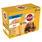 Pedigree Senior 7+ Pouch 12 x 100 g - 24 x 100 g