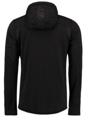 O'Neill Easy Active Zip Hoodie black out Miehet