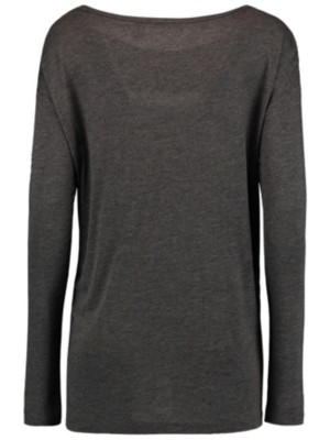 O'Neill Essentials Winter T-Shirt LS dark grey melee Naiset
