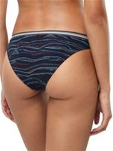 O'Neill Active Cheeky Bikini Bottom blue aop w / pink / purple Naiset
