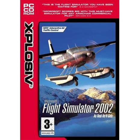 Microsoft Flight Simulator 2002, PC-peli