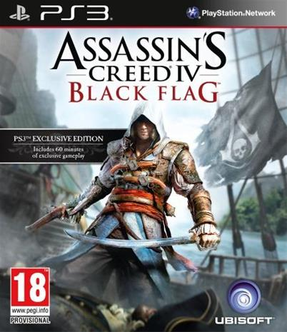 Assassin's Creed IV (4): Black Flag, PS3-peli