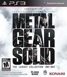 Metal Gear Solid: The Legacy Collection 1987 - 2012, PS3-peli