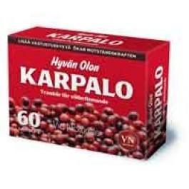 Via Naturale Hyvän Olon Karpalo, 60 tabl.