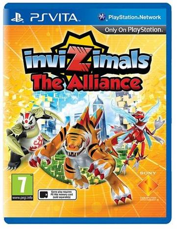 Invizimals: The Alliance, PS Vita -peli
