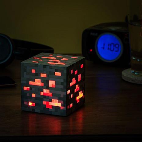 Minecraft Light-Up Redstone Ore, valaisin